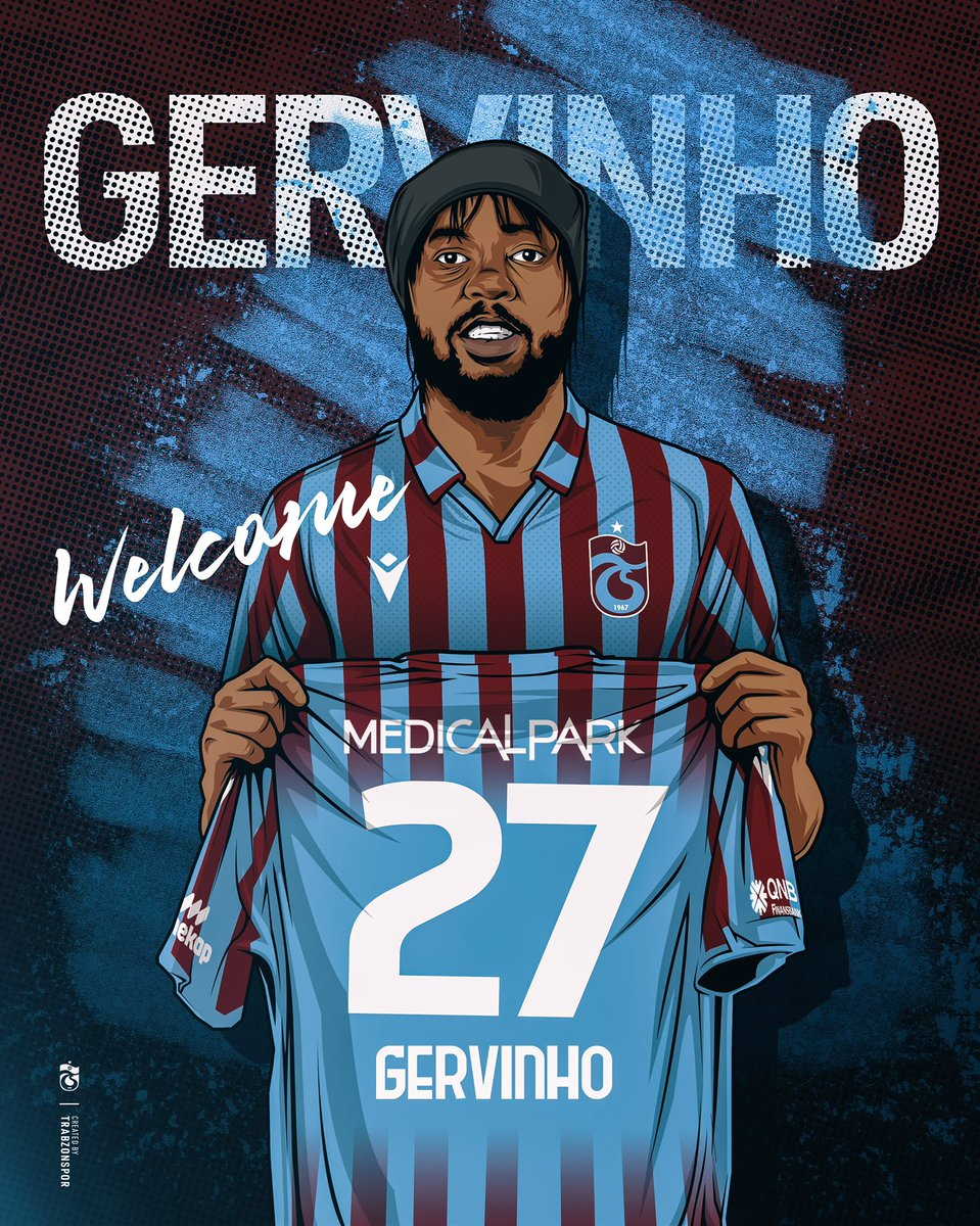 📝Trabzonspor have signed Gervinho on a free transfer from Parma