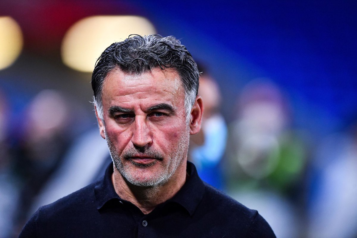 Former Lille manager Christophe Galtier has become an option for the Real Madrid coaching position