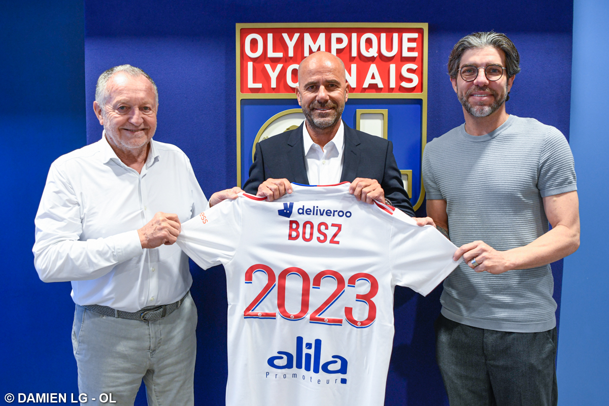 📝Lyon have appointed Peter Bosz as the new head coach on a contract until 2023